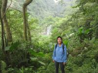 Hiking in Taiwan while searching for Herennia spiders